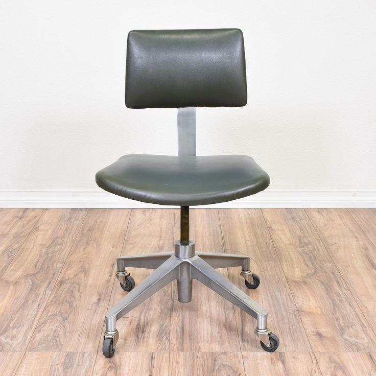 industrial metal mid century modern office chair 3 - Modern Desk Chair