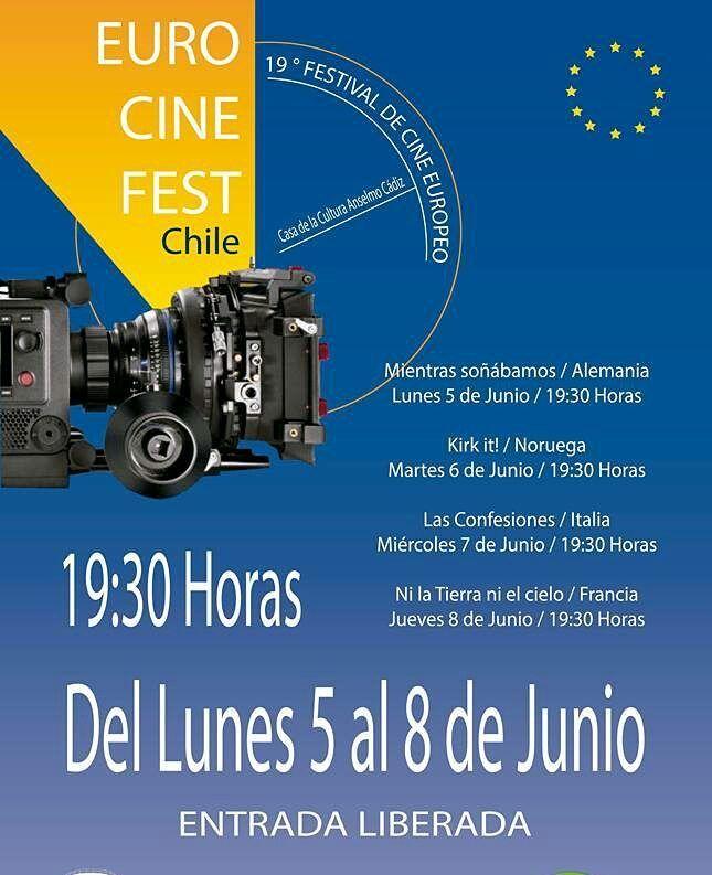 A esta hora se realiza la penúltima función del 19 Festival de Cine Europeo en la Casa de la Cultura Anselmo Cádiz.