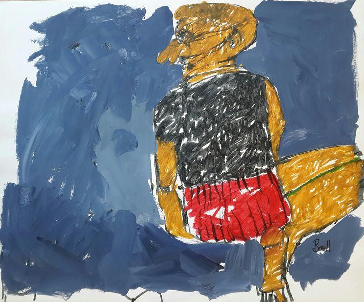 #TerriBroll Mixed Media on paper  #ArtEyeGallery #InvestmentArt #ContemporaryArt #SouthAfricanArt art@arteye.co.za