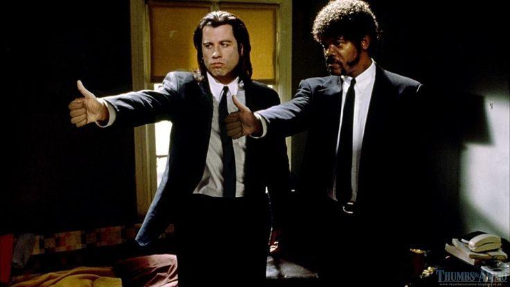 Lol: pistolen in films vervangen door een opgestoken duim
