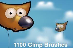 gimp brushes