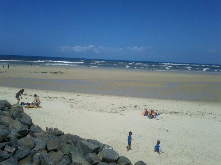 Caloundra Beach in Caloundra, QLD