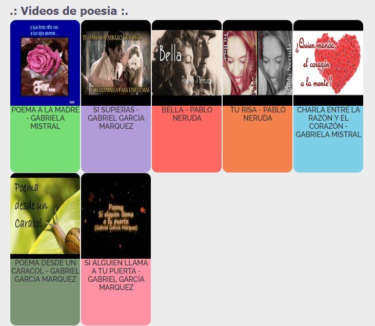 Videos de poemas, solo en maketa mx http://www.maketamx.com/category/Cultural/