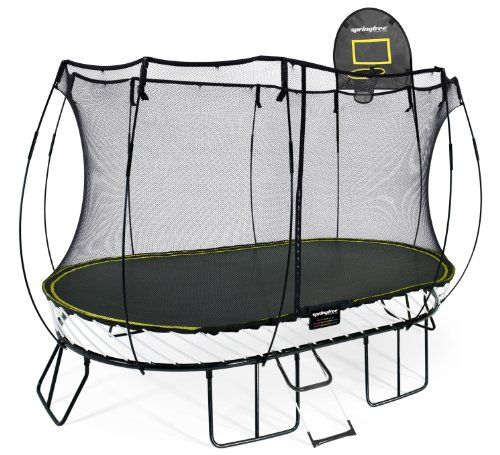Top 10 Best Oval Trampoline With Safety Enclosures Our Top: 11 Best Trampoline With Basketball Hoop Images On