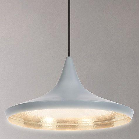 Buy Tom Dixon Beat Wide Ceiling Pendant Light Online at johnlewis.com