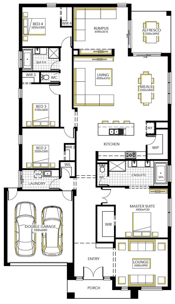 3742 best awesome house plans images on pinterest floor for Lounge room floor plans