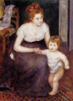 The First Step - Pierre Auguste Renoir - The Athenaeum