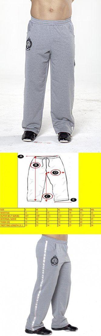 BIG SAM SPORTSWEAR COMPANY Men's Baggy Track Pants Bodypants *914* S Grey