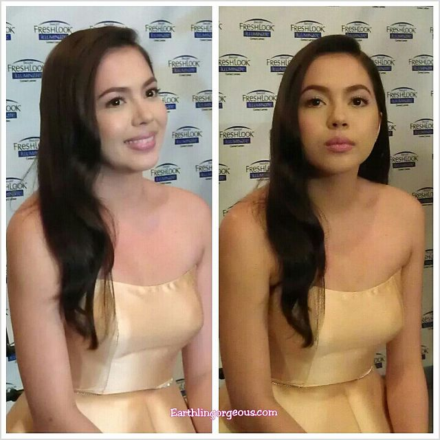 Julia Montes First Filipina Endorser of Fresh Look Contact Lenses