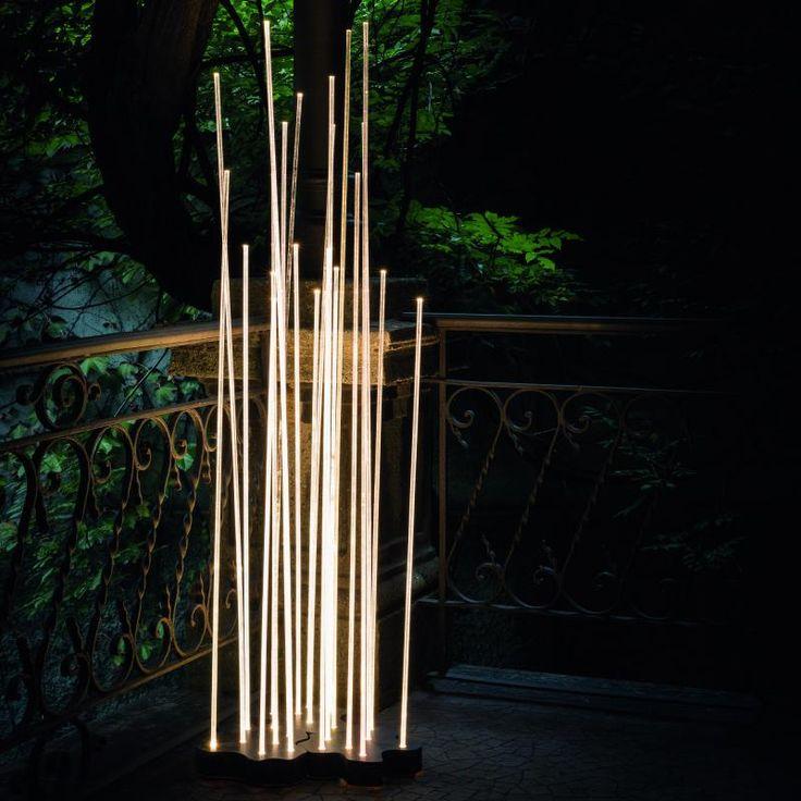 New Artemide Reeds LED Bodenleuchte Triple IP Die Au enleuchte aus Edelstahl ist ein Highlight in jedem Garten garten gardening garden gartendeko