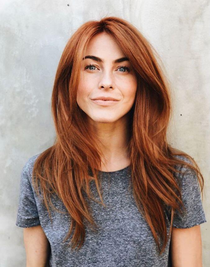 Julianne Hough red hair