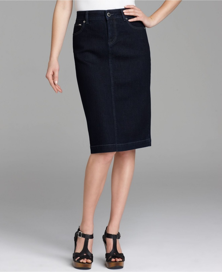 27 best images about denim pencil skirts on