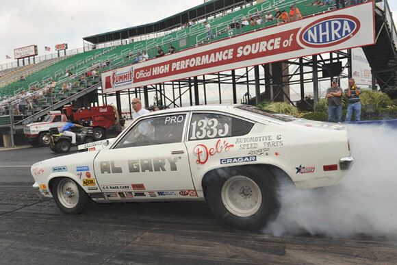 Ford Factory Drag Cars