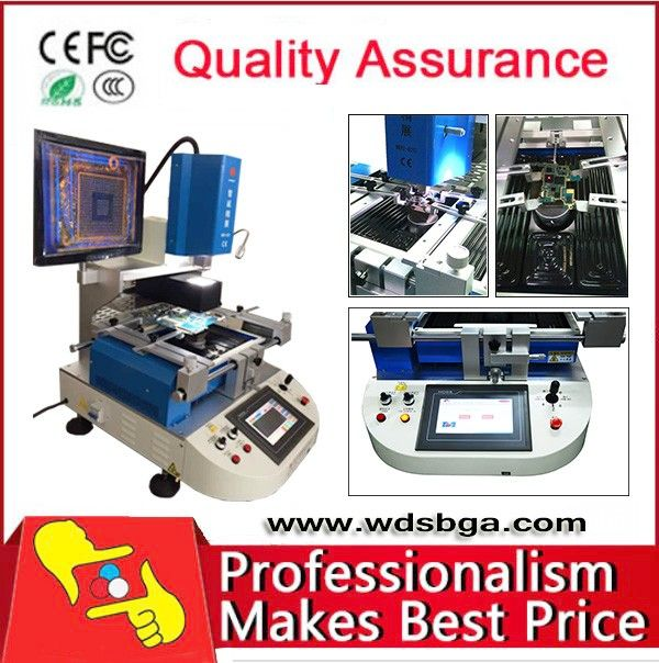 China supplier! WDS-620 auto acer laptop motherboard repair machines price for nokia mobile
