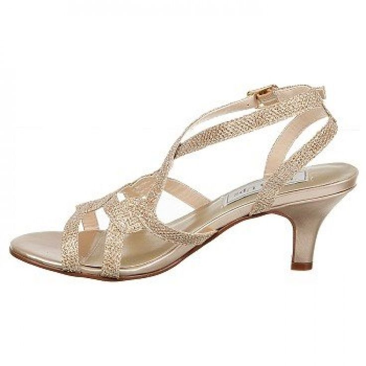 Champagne Touch Ups Flatter Evening Shoes Wedding ShoesLow HeelsEvening
