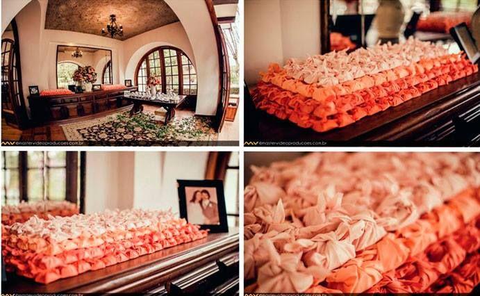 Os bem casados da Oficina do Açúcar ficaram lindos no casamento da Danny e Rodrigo! ♥ Papel e Estilo.