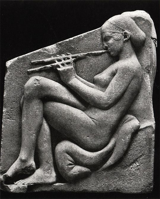 Etruscan relief from the Ludovisi Throne c.550 BC
