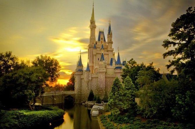 Disneyland Or Disneysea 1 Day Passport Ticket And Private Transfer From Tokyo Disney Castle Castle Castle Background