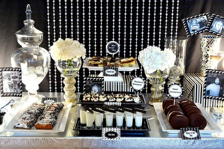 40 39 s gangter party theme party black white pinterest for 1920s decoration ideas party