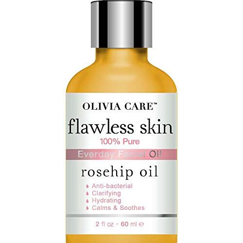 Rosehip Pure Flawless Essential Facial Oil By Olivia Care 100