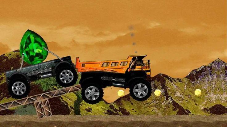 Money Truck | Monster Trucks for Children games | Video for Kids