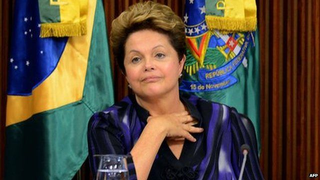 President Dilma Rousseff launches scheme for more doctors