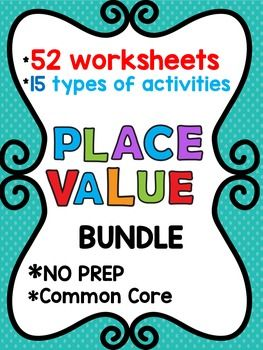1000+ ideas about Place Value Worksheets on Pinterest | Grade 2 ...