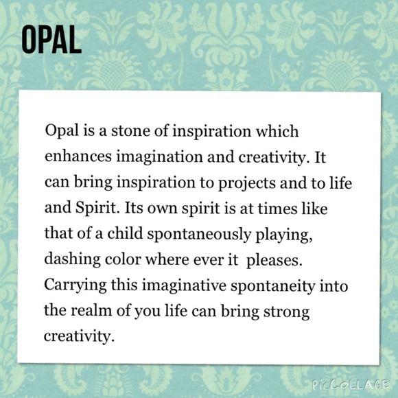 Ohmgems Jewelry Gemstone Meaning Opal Stones Opal