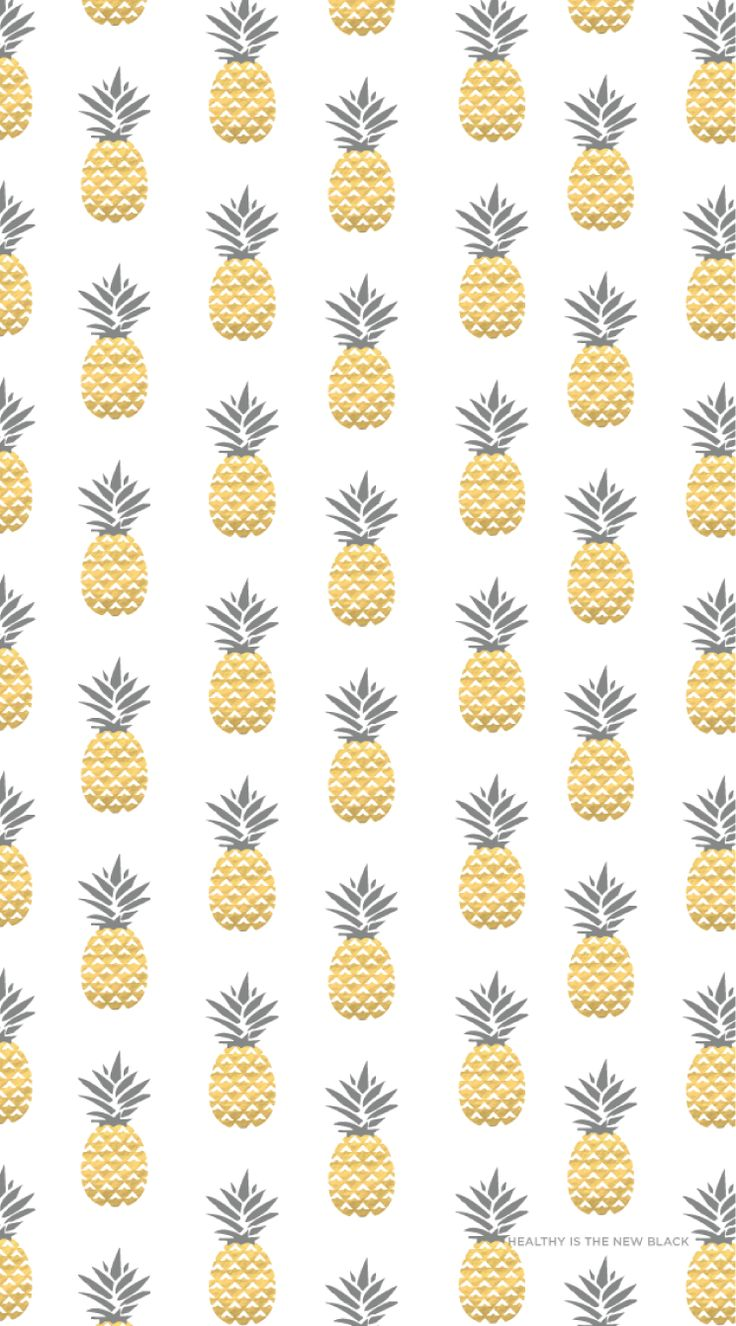 Gold Pineapples iphone wallpaper. Healthy lifestyle wallpapers. Enjoy!!