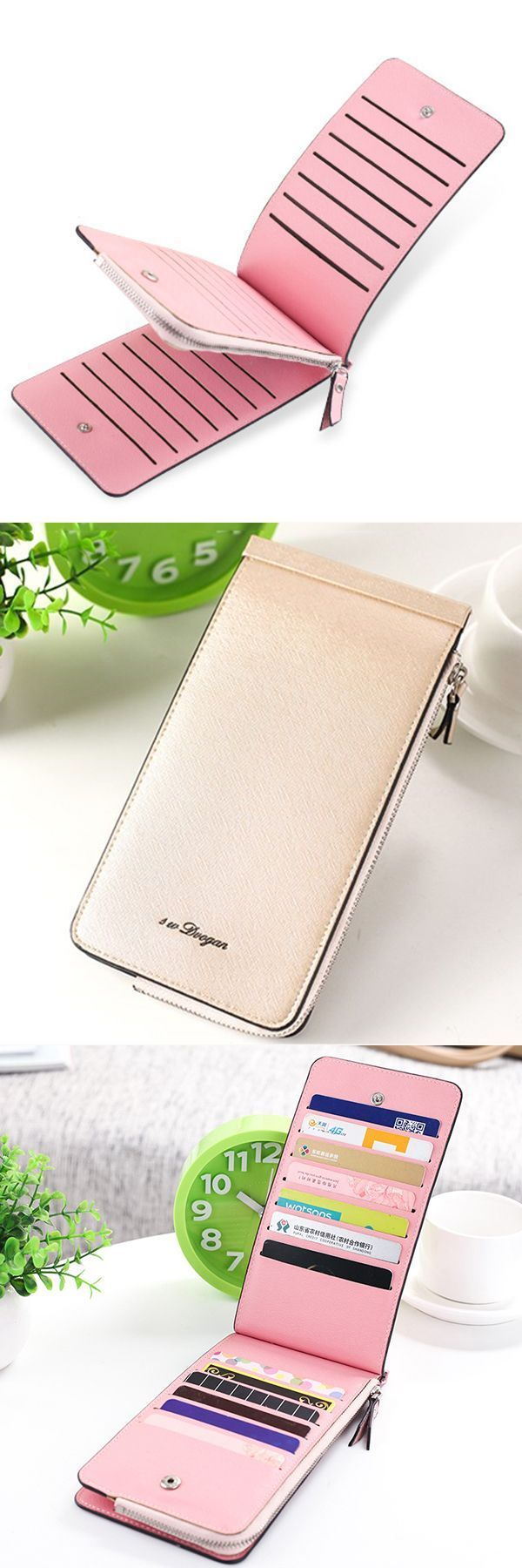 M Wallets In India Women Microfiber Leather Multi Card Slots Wallet Card Holders Phone Bag I Phone Wallets Kmart Wallets Men Card Wallet Wallet Phone Bag