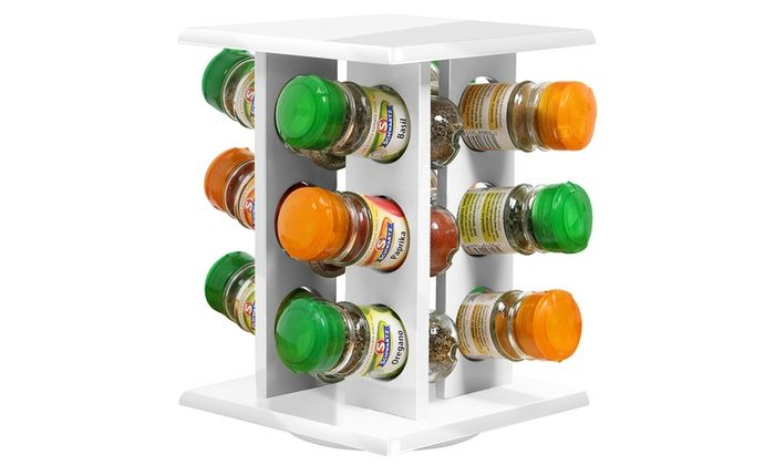 Découvrez ces élégants carrousels à épices, très utiles, ils permettent un gain de place. Ayez en permanence vos épices à portée de main