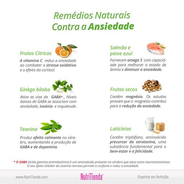 Remédios Naturais Contra a Ansiedade