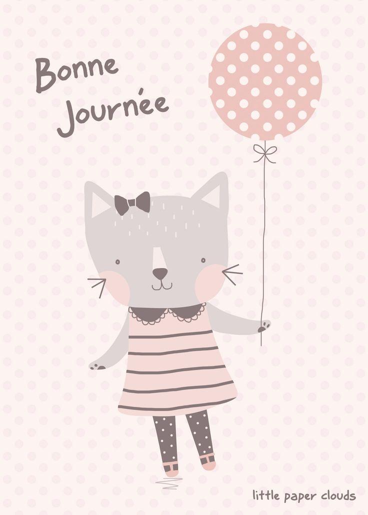 'Eloise'   Children's Illustration  Cute Cat, Kawaii