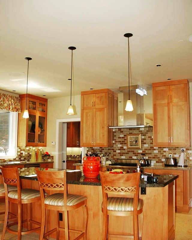 Craftsman Style Kitchen we installed the Clear Alder Frameless Cabinets for. The finished product turns out great! #tbt  #realestate #carmel #carmelvalley #cabinet #install #kitchen #dreamhome #dreamkitchen #carpentry #realestate #kitchendesign #kitchenlife #montereybay #montereybaylocals - posted by J.E.T. Construction https://www.instagram.com/jet_construction - See more of Monterey Bay at http://montereybaylocals.com