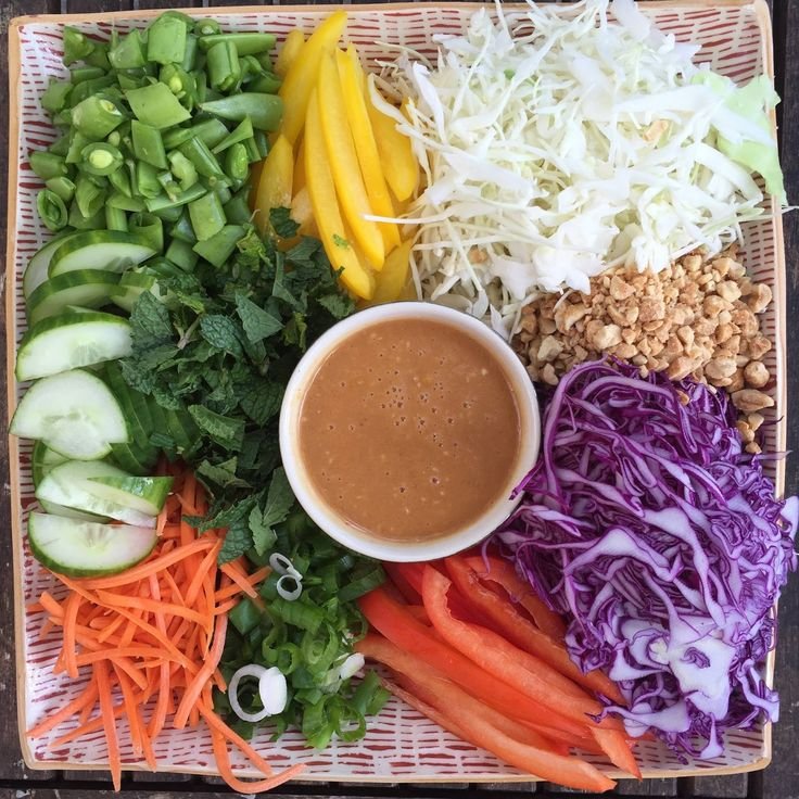 designer bags and dirty diapers: Crunchy Thai Salad + Spicy Peanut Dressing | Nordstrom Clearance Sale