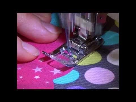 Vidéos gratuites techniques de base couture - Coudre un appliqué