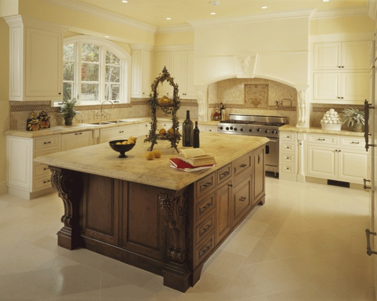 Traditional Kitchen Island Design Pictures Remodel Decor And Ideas Page 15