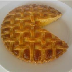 Traditional Bakewell Tart Allrecipes.com Pride and prejudice movie night dish