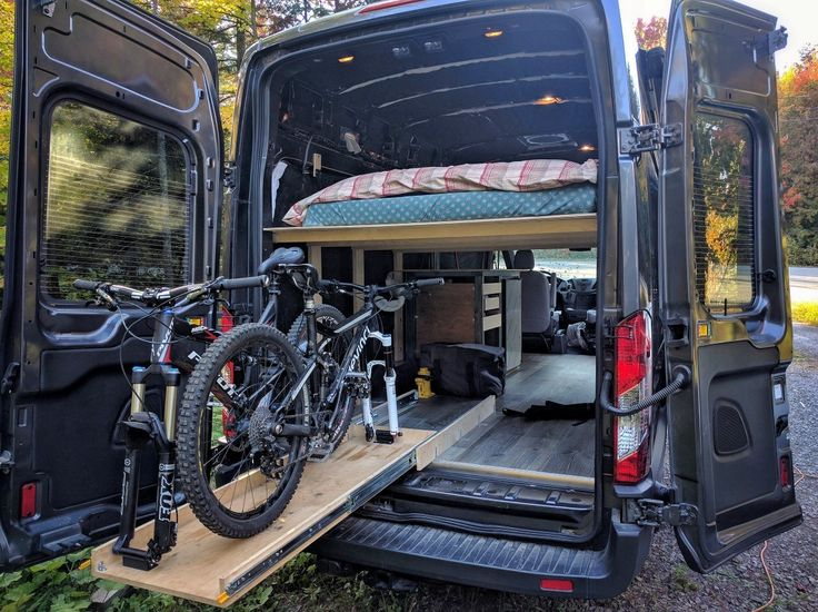 FarOutVan 148 HR EL Campervan Conversion For Mountain Biking And Backcountry Skiing
