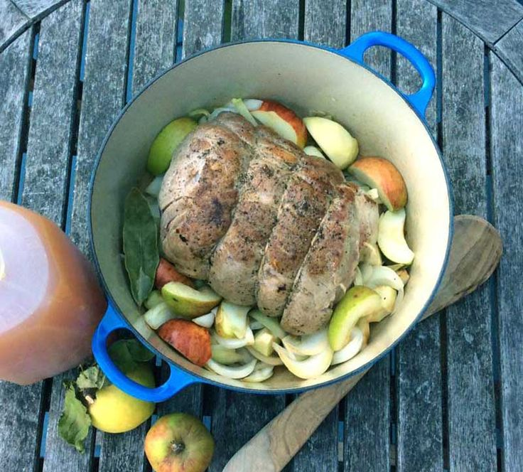 Metropolitan Market's own delicious recipe for Apple Cider Braised Pork Shoulder.