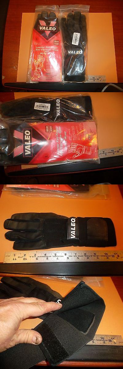 Gloves Straps and Hooks 179820: New Valeo Anti-Vibration Gloves W/Wrist Wrap, Large,Motorcycle Gloves -> BUY IT NOW ONLY: $30.0 on eBay!