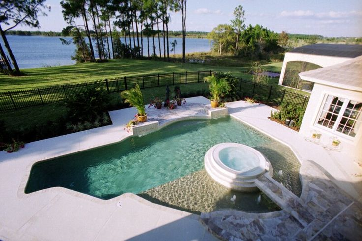 94 best pools images on pinterest swimming pool designs for Pool design houston