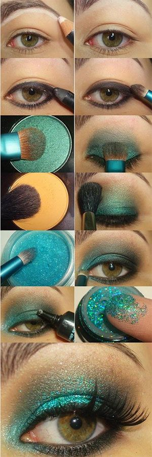 Little Mermaid make-up tutorial/how-to