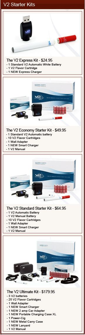 V2 Ecig Review | Coupon Codes & Starter Kit Reviews | Ecig Reviews