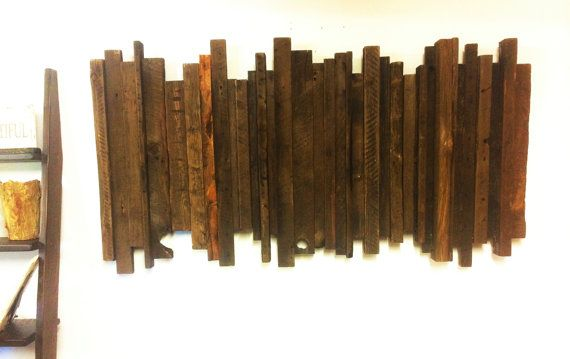 This distinct piece of art is sure to make a grand statement on any wall it goes on! The exquisite piece is sure to be one of a kind! All of our pieces are unique in colour and texture. No two pieces are exactly the same!  This beautiful wall art is handcrafted out of reclaimed barnwood, which comes straight from Manitoba and Ontario.  For larger orders please contact us and we would be happy to work out a wholesale price for you  To view more products visit us at www.prairiebarnwood.com