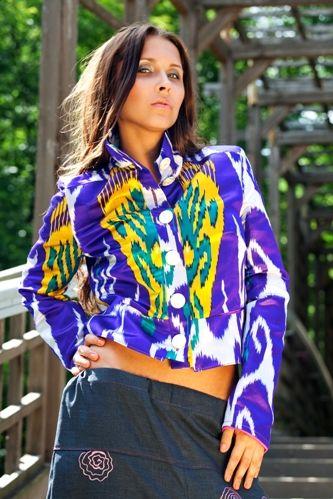 Куртка-пиджак kikamuka