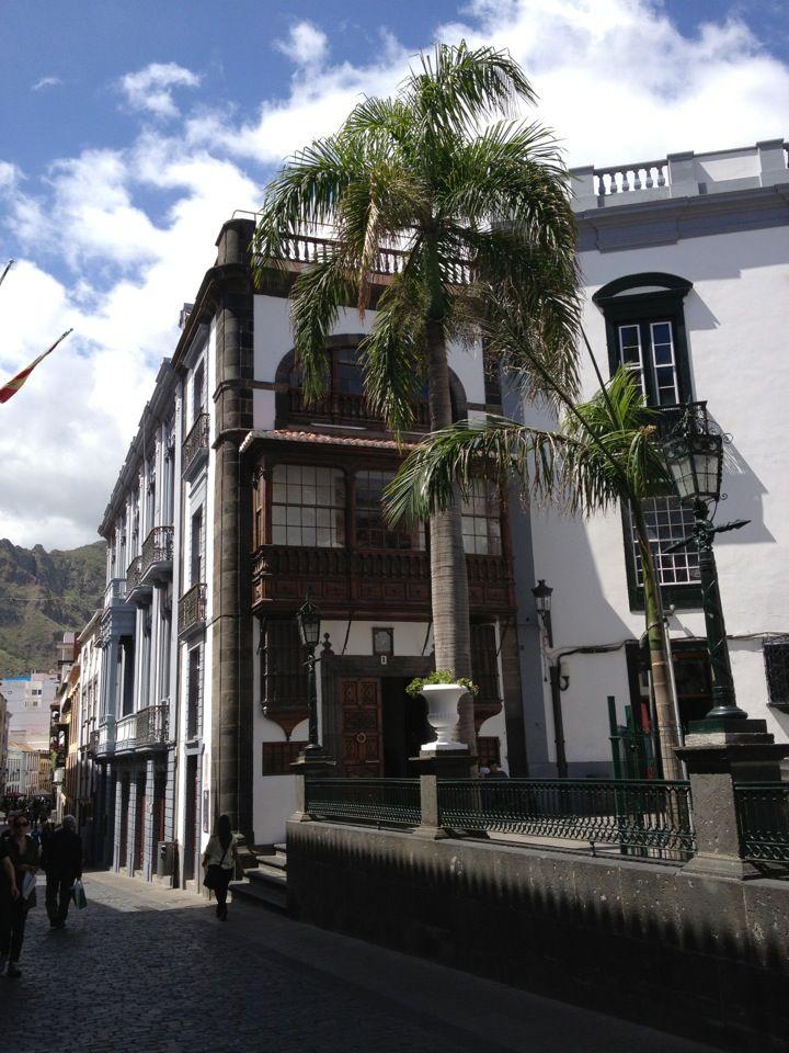 Santa Cruz de La Palma in Canarias