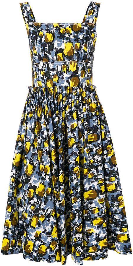 3bdec60599e Marni printed summer dress  summer  dress  fashion  ad Summer Dresses For  Women