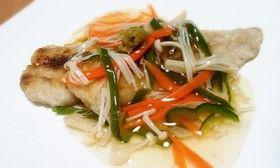 ◆簡単!白身魚の野菜あんかけ♪◆