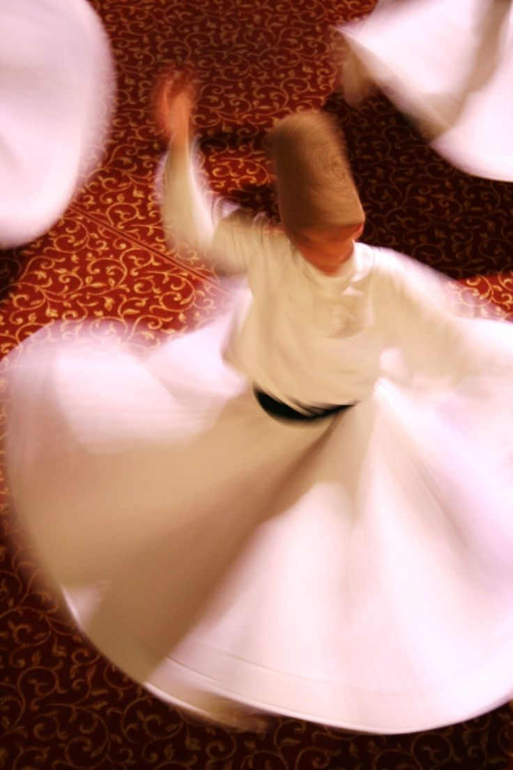 to see Whirling Dervishes in Turkey